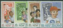 NZ SG1813-6 75th Anniversary of Children's Health Camps health stamps set of 4